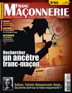 Le revue « Franc-maçonnerie magazine »